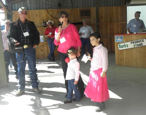 June 23 California Beef Cattle Improvement AssociatiDan, Barb, Dominic and Sophi